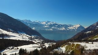 Gersau Switzerland  city images : 4K Gersau, Schwyz SWITZERLAND アルプス山脈
