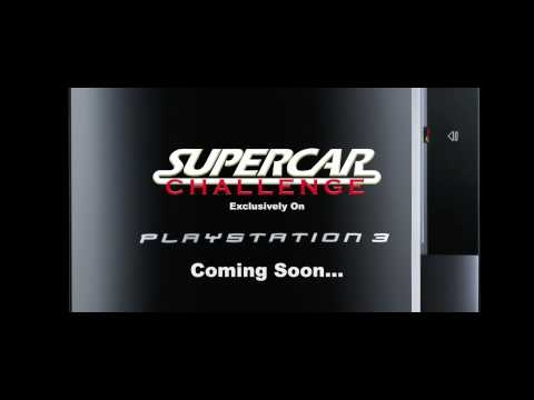 supercar challenge for sony playstation 3