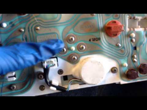 Fixing speedometer on 240sx