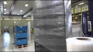 Rotoplat 508 περιτύλιξη παλέτας με φιλμ