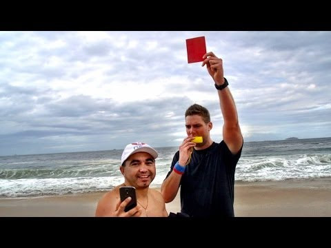 cards - We gave people RED CARDS. In Rio. At the World Cup. Comment who will win the World Cup? ▻ Watch our Bonus Video,