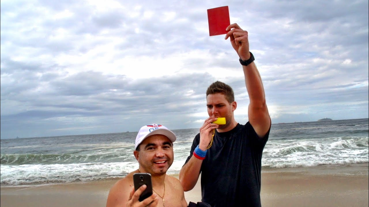 Red Cards in Rio Prank | Dude Perfect