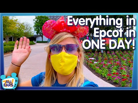 How Hard Is It To Do EVERYTHING in EPCOT in ONE Day?