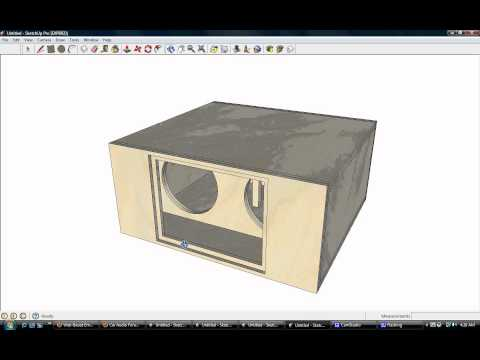 Order band pass box design 18 inch subwoofer box design 4th order band
