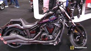 6. 2017 Yamaha Stryker SE - Walkaround - 2017 Toronto Motorcycle Show