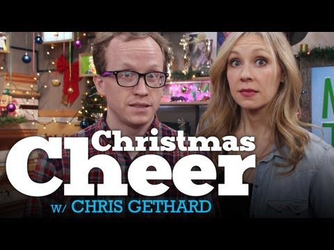 MyDamnChannel - A full 60 minutes of FESTIVE FUN with Chris Gethard (The Chris Gethard Show -- http://www.youtube.com/chrisgeth)! We'll be playing Mystery Box, making Ugly S...