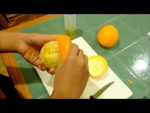 HOW TO: Make a candle out of an orange