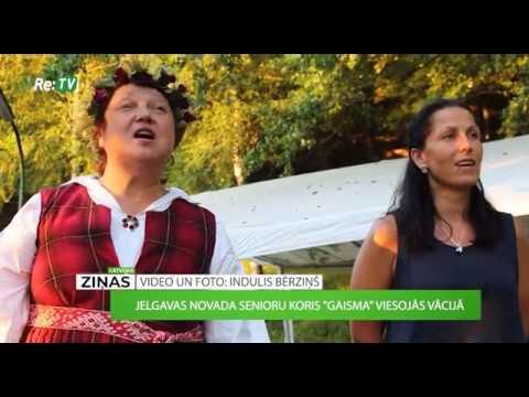 """Jelgavas novada senioru koris """"Gaisma"""" viesojas Vācijā"""
