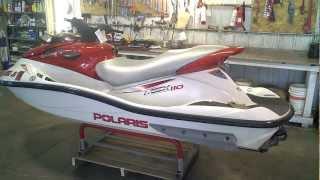 10. LOT 1348A 2004 Polaris MSX 110 Turbo Four Stroke Jet Ski
