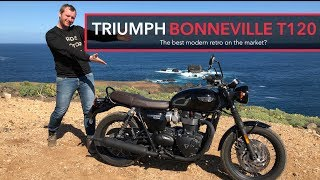 1. Is the Triumph Bonneville T120 best modern classic on the market?