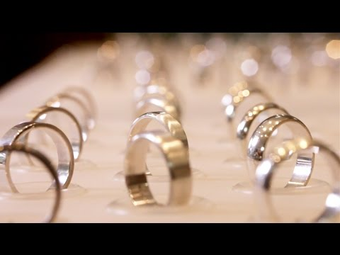 'The RING bar' - 1) weddings band widths & profiles