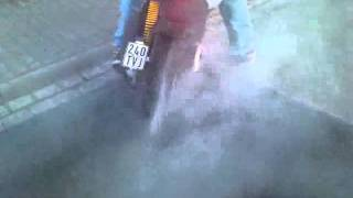 7. Aprilia SR 50 R Factory Burnout