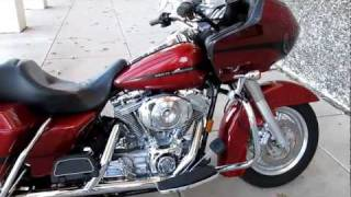 6. 2006 Harley-Davidson Road Glide FLTRI nice upgrades Hear it!