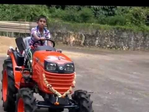 kubota B2420 mini tractor features .mp4