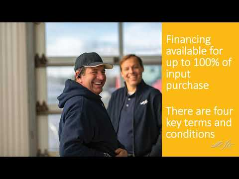 Farm Credit and Plant Products