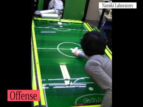 You Will Never Beat This Hustling Robot At Air Hockey