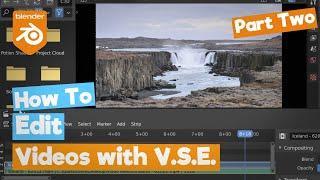 Editando vídeo no blender parte 2