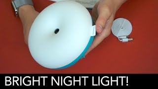 A cute, useful and bright bedside light unboxing.Want one yourself? http://amzn.to/2p5RbZfGet 50% off with the code 770002OFEnjoy!