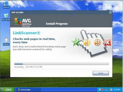 Video 2 de AVG AntiVirus: Prueba de AVG AntiVirus (en inglés)