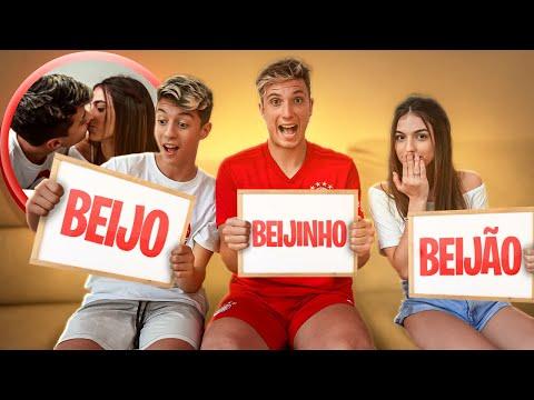 BEIJÃO, BEIJO E BEIJINHO COM OS CRUSHS!!