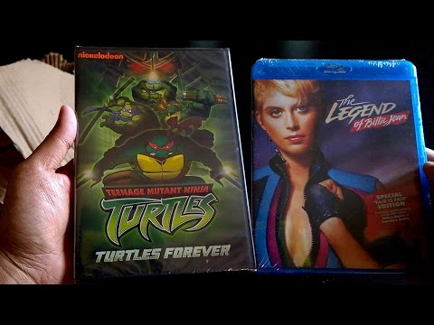 TMNT Turtles Forever (2009) [DVD] + The Legend Of Billie Jean (1985) [Blu-ray]