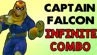 Captain Falcon's Infinite Combo!