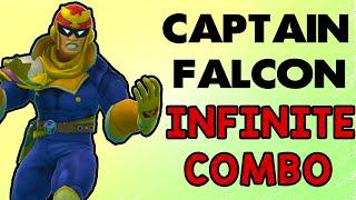 Captain Falcon's Infinite Combo!