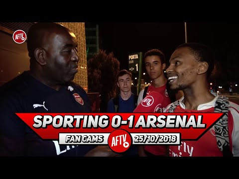 Sporting Lisbon 0-1 Arsenal | We Will Win The Europa League! (South African Fan)