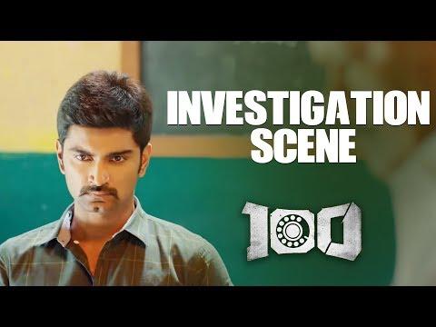 100 - Investigation Scene | Atharvaa | Hansika Motwani | Radha Ravi | Yogi Babu