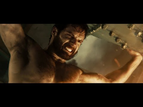 Man of Steel - Oil Rig Rescue Scene (1080p Bluray) - Superhero Fantasy