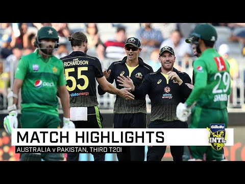 Australia thump Pakistan for a 10-wicket trouncing  Third Gillette T20I