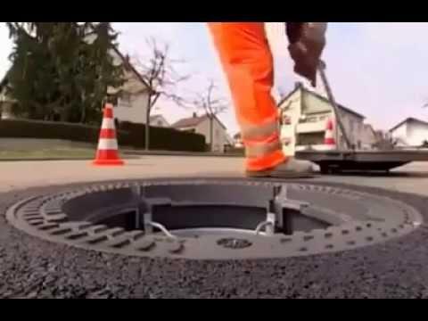 [Maintenance] German Manhole Cover Repair