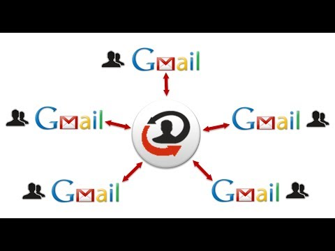 how to sync two gmail accounts