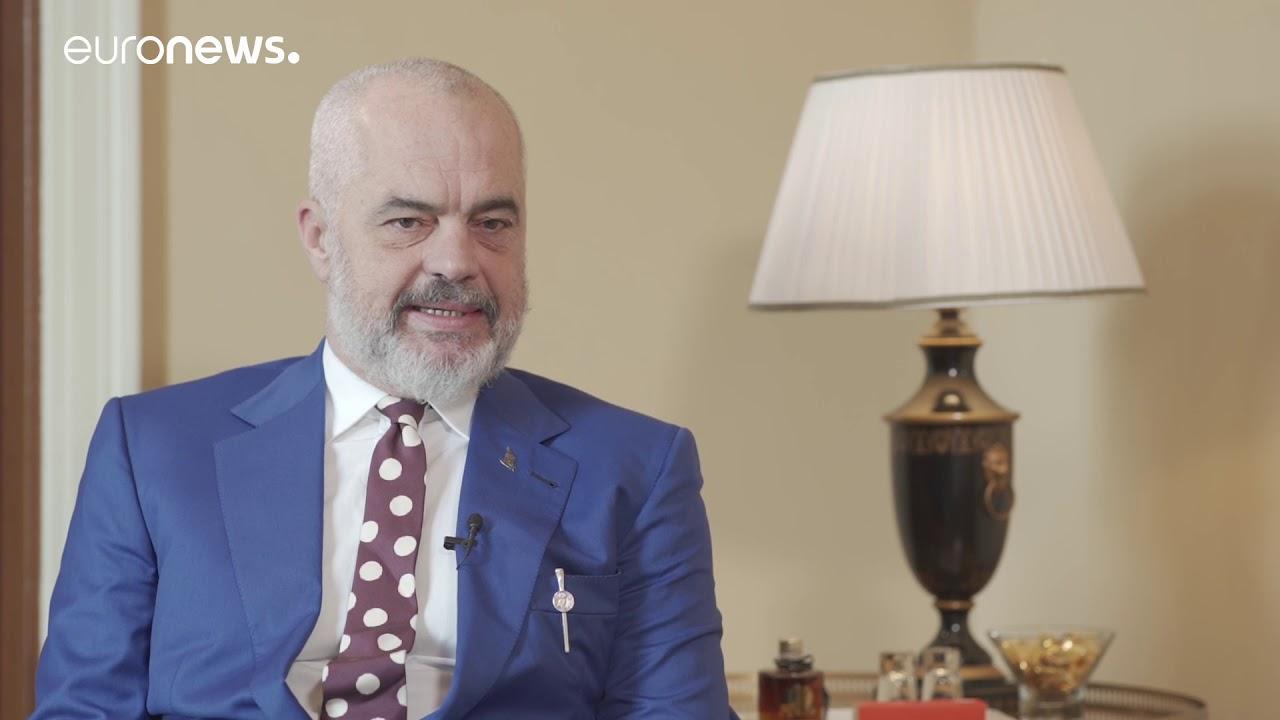 Ο Έντι Ράμα στο euronews (ολόκληρη η συνέντευξη στα αγγλικά)