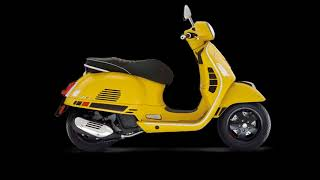 7. The Scooter 2018 Vespa GTS 300 Super Sport ABS