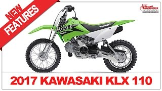 1. 2017 Kawasaki KLX110 Price & Spec