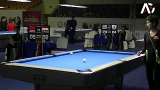2014 Women 9-Ball WC - Xiao Ting Pan v Angeline M. Ticoalu