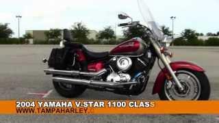 7. 2004 Yamaha V-Star 1100 Classic  - Used Motorcycles for Sale - Mango, FL