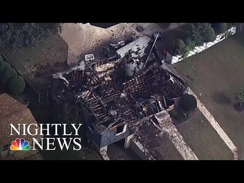 Police Officer Saves Others As His Home Burns In Massachusetts Gas Explosions   NBC Nightly News
