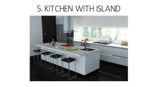 Types of Kitchen Designs & Styles