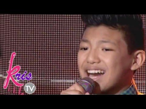 version - Darren sings his version of Maghintay ka lamang.