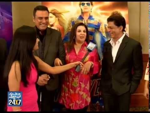 Shahrukh khan & Deepikas Exclusive interview | Happy New year team with Suvarnanews part2