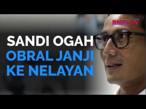 Sandi Ogah Obral Janji Ke Nelayan