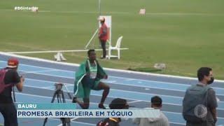 Daniel Nascimento do atletismo bauruense continua treinamento no Quênia