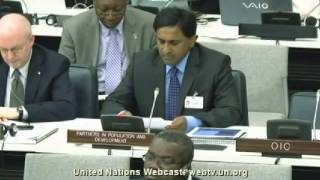 Statement at the Forty-Sixth Session of the CPD at the UN