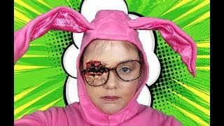 A CHRISTMAS STORY RALPHIE RED RYDER MAKEUP! by Kat Sketch
