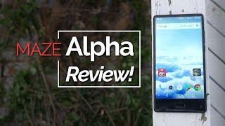 Maze Alpha Review - Cheap Bezelless Phone, Worth❓❓❓