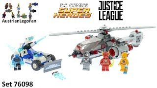 Nonton Lego Super Heroes 76098 Speed Force Freeze Pursuit   Lego Speed Build Review Film Subtitle Indonesia Streaming Movie Download