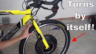 Video The Self-Propelled Bike Wheel! You Never Have to Pedal Your Bike Again! MP3, 3GP, MP4, WEBM, AVI, FLV April 2018