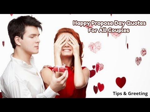 Happy quotes - Happy Propose Day Quotes   Beautiful Quotes For Love